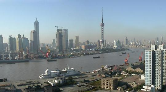 Zentrum der Spekulation: Shanghai <br/>Foto von Slices of Light
