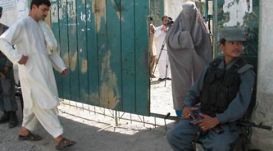 Wählen nach Zahlen in Kandahar <br/>Foto von Canada in Afghanistan