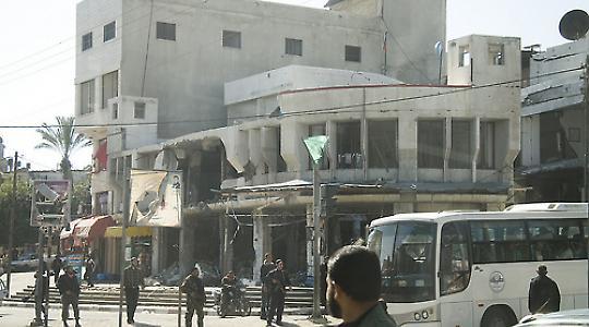 Gaza-Stadt, 2009 <br/>Foto von Gloucester2Gaza