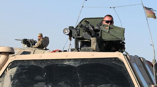 Deutsche Soldaten bei Mazar-i-Sharif <br/>Foto von isafmedia