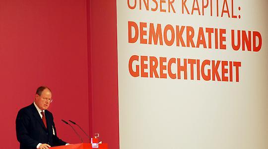 Reden ist Gold: Peer Steinbrück