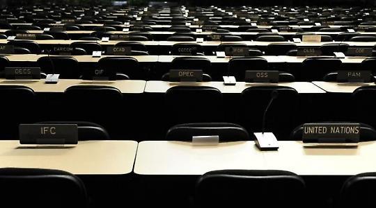 Die Reihen fest geschlossen vor dem Gipfel in Cancún  <br/>Bild von UN