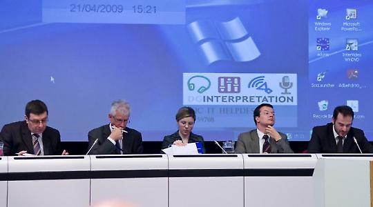 Treffen von Interessensvertretern in Brüssel 2009 <br/>Foto von Teemu Mäntynen