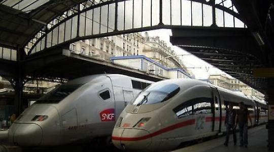 Foto von fredpanassac <br/>ICE und TGV in Paris