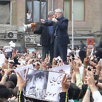 Oppositionsführer Mir Hossein Mussawi <br/>Foto von anon40