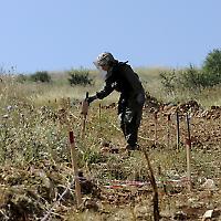 Minensuche im Südlibanon