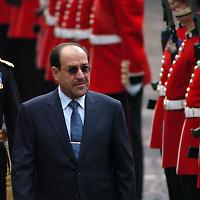 Nuri Al-Maliki 2009 zu Besuch in London