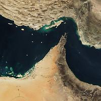 Der Iran droht im Konfliktfall die Straße von Hornus zu blockieren
