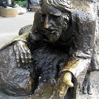 """Ausschnitt der Skulptur """"The Immigrants"""" im Battery Park in New York <br/>Foto von wallyg"""