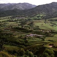 Nahe Manizales, Kolumbien <br/>Foto von philipbouchard