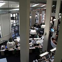 Redaktion der Frankfurter Rundschau <br/>Foto von 7an, Flickr