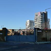 Alte Brachen und neue Bauten im Londoner Hackney Wick