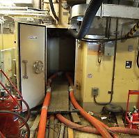 Im Turbinengebäude von Reaktor I