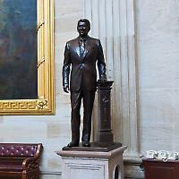 Zum Säulenheiligen stilisiert: Ronald Reagan