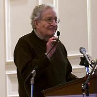 Noam Chomsky <br/>Foto von dlr2008