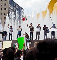 Proteste gegen Wahlfälschung