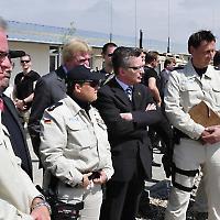 Thomas de Maizière zu Besuch in Mazar-i-Sharif <br/>Foto von ISAFMedia