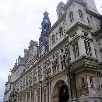 Pariser Rathaus <br/>Foto von stefan