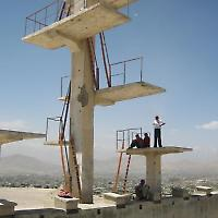 Von der Sowjetunion gebautes Schwimmbad in Kabul <br/>Foto von machina, Flickr