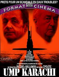 """Ironisches Filmplakat zu """"Karachigate"""""""